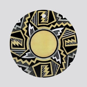 MIMBRES INFINITY BOWL DESIGN Ornament (Round)
