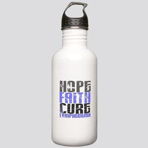 Lymphedema Hope Faith Stainless Water Bottle 1.0L