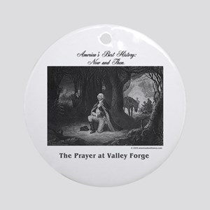 ABH Valley Forge Round Ornament