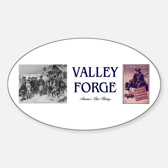 ABH Valley Forge Sticker (Oval)