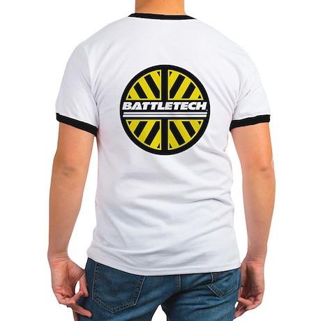 Yellow & Black BT Logo Ringer T