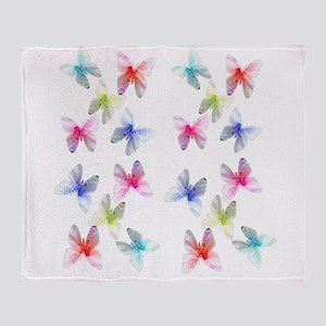 Colorful flowering butterflies. Floral photo art.