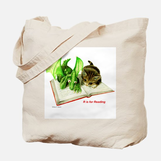 R is for Reading  Tote Bag