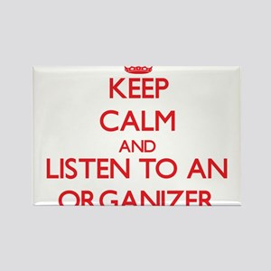 Keep Calm and Listen to an Organizer Magnets