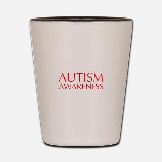 autism-awareness-OPT-RED Shot Glass