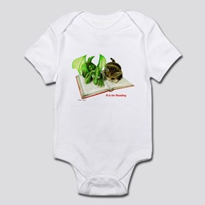 R is for Reading  Infant Bodysuit