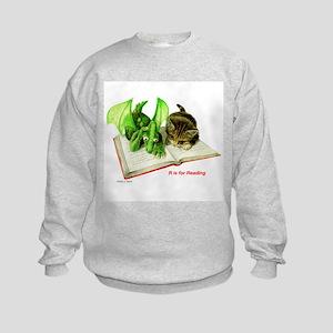R is for Reading  Kids Sweatshirt