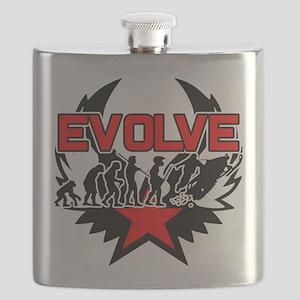Snowmobile Evolution Flask