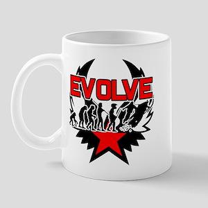 Snowmobile Evolution Mug