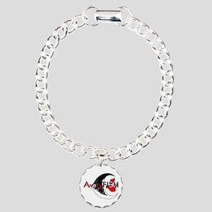 AveryFISH Charm Bracelet, One Charm
