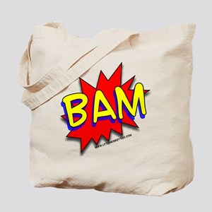 BAM Comic saying Tote Bag