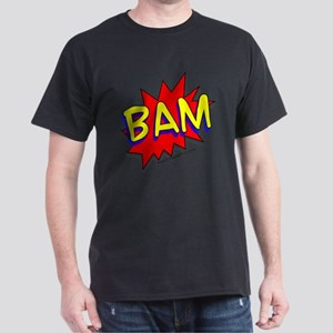 BAM Comic saying Dark T-Shirt