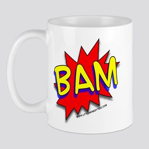 BAM Comic saying Mug