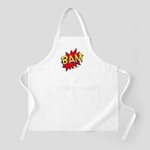 BAM Comic saying BBQ Apron