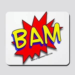 BAM Comic saying Mousepad