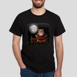 Surreal Owl and Moon T-Shirt