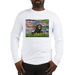 Lilies (2) & Cavalier (BT) Long Sleeve T-Shirt