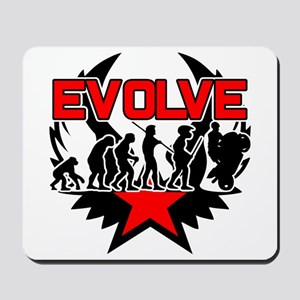 Motorcycle Evolution Mousepad