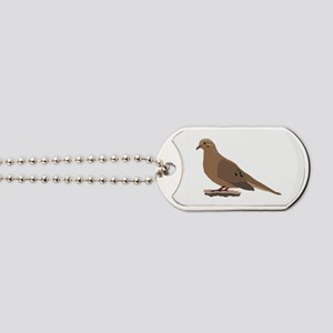 Mourning Dove Dog Tags