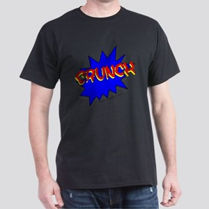 CRUNCH comic strip Dark T-Shirt
