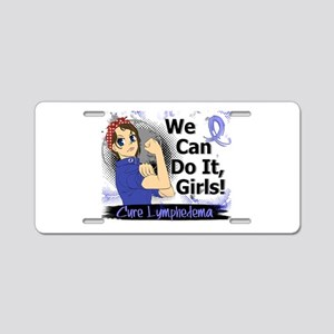 Lymphedema Rosie Anime WCDI Aluminum License Plate