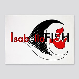 IsabellaFISH 5'x7'Area Rug