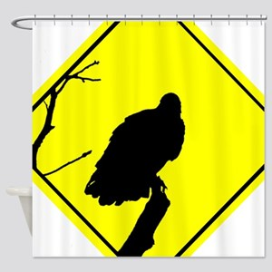 Vulture Crossing Shower Curtain
