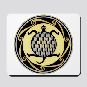 MIMBRES SWIMMING TURTLE BOWL DESIGN Mousepad