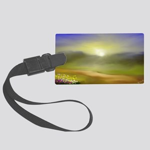 God's Gifts Large Luggage Tag