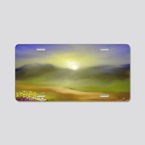 God's Gifts Aluminum License Plate