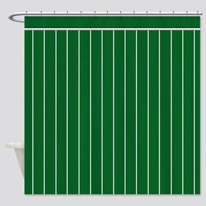 Vertical White Pinstripe On KELLY GREEN Backgroun