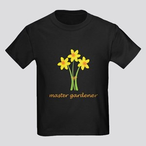 Cute Yellow Daffodils Kids Dark T-Shirt