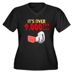 over 9,000 Plus Size T-Shirt
