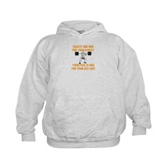 Squats are bad for your knees? Hoodie