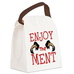 Enjoy The Ment Canvas Lunch Bag