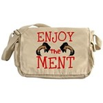 Enjoy The Ment Messenger Bag