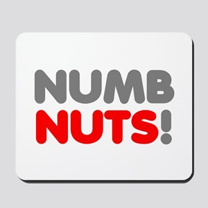 Numb Nuts! Mousepad
