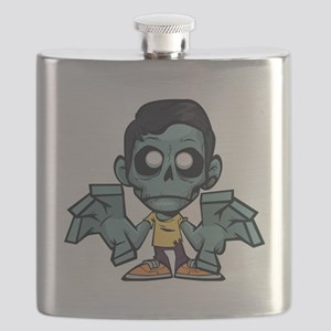 Zomboy, the zombie boy Flask