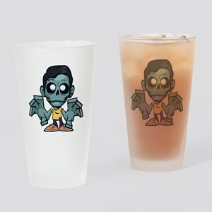 Zomboy, the zombie boy Drinking Glass