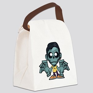 Zomboy, the zombie boy Canvas Lunch Bag