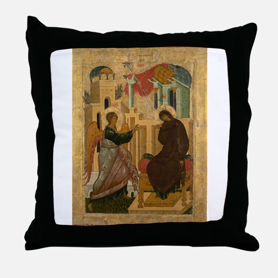 Anonymous - The Annunciation - 15th century Throw