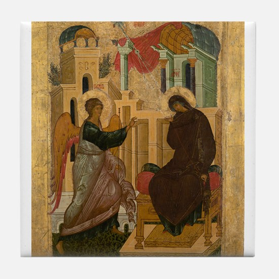 Anonymous - The Annunciation - 15th century Tile C