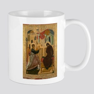 Anonymous - The Annunciation - 15th century Mugs