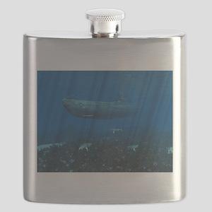 U99 Submarine Flask