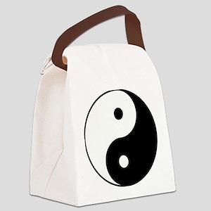 Yin Yang Canvas Lunch Bag
