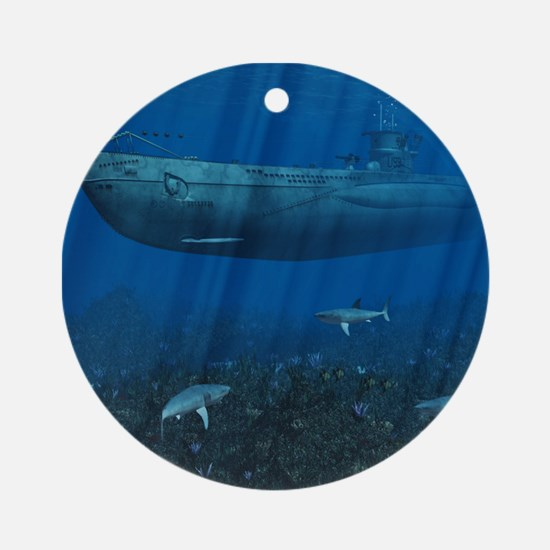 U99 Submarine Ornament (Round)