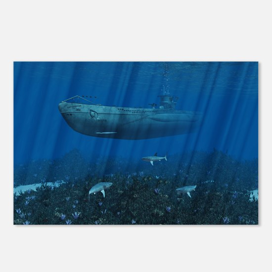 U99 Submarine Postcards (Package of 8)