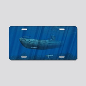 U99 Submarine Aluminum License Plate