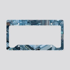 rooftop helipad License Plate Holder
