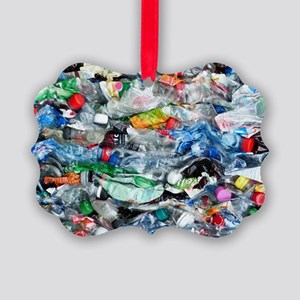 Recycling plastic Picture Ornament